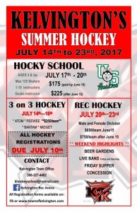 Summer Hockey Poster